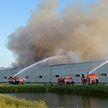 Пожар на складе готовой продукции произошёл в Барановичском районе