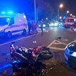 Мотоциклист погиб на МКАД из-за не уступившей дорогу Honda Civic
