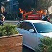 Три взрыва произошли в кафе в центре Бишкека: один человек погиб, 15 пострадали
