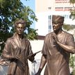 Памятник белорусским медикам открыли в Боровлянах