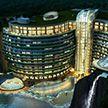 Экологичный отель построили в заброшенном карьере (Фото)