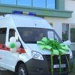 Беларусбанк подарил новый автомобиль скорой помощи в Барановичах
