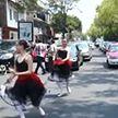 Балерины в Мехико станцевали прямо на перекрёстке
