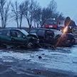 ДТП в Оршанском районе: при лобовом столкновении авто три человека пострадали