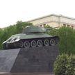 Символы Победы: Танк Т-34 возле Дома офицеров в Минске