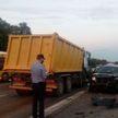 Крупная авария из шести автомобилей произошла на МКАД