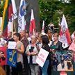 Литовцы протестуют против размещения мигрантов