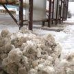 Беларусь занесло снегом. Аварии буквально на ровном месте
