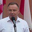 На президентских выборах в Польше побеждает действующий глава государства Анджей Дуда