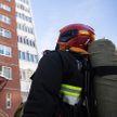 Мужчину спасли из задымленной квартиры в Гродно