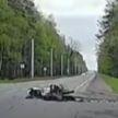 Последние секунды жизни 21-летнего мотоциклиста зафиксировал видеорегистратор