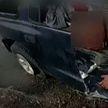В США полицейские спасли подозреваемого из горящей машины