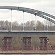 Самый красивый мост Беларуси: над главным въездом в Рогачёв возвысилась уникальная арка с французскими вантами