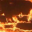 Лесной пожар угрожает пяти городам в Южной Корее