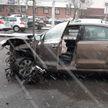 Массовая авария с участием трёх авто произошла в Минске