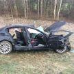 ДТП в Полоцком районе: BMW вылетел в кювет и перевернулся. Водитель погиб