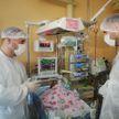 Белорусские хирурги успешно прооперировали новорожденную с опухолью шеи