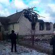 Пожар в жилом доме в Осиповичах: два человека погибли