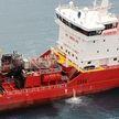 Взрыв и пожар на нефтяном танкере у побережья Кипра: корабль сел на мель