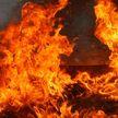 Пожар в железнодорожной прачечной в Бресте: огонь повредил полтонны белья