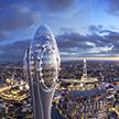 В Лондоне появится небоскреб в форме цветочного стебля