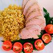 Куриное филе в сметанно-горчичном соусе. Прекрасный вариант полезного обеда или ужина. Рецепт от телеведущей Екатерины Тишкевич