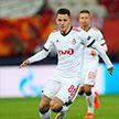 Первый матч – и первый гол. Форвард сборной Беларуси Виталий Лисакович отличился в дебютной игре футбольной Лиги чемпионов