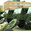 Новую технику передали 103-ей воздушно-десантной бригаде в Витебске