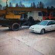 Злоумышленники угнали лесовоз со склада в Полоцком районе и вывезли в Россию
