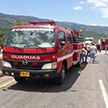 Автомобиль протаранил толпу людей в Колумбии, есть погибшие