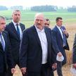 Лукашенко с рабочей поездкой посетил Несвижский район