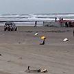 270 боксов с ядовитыми химикатами упали в бассейн Северного моря
