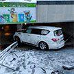 В Минске легковушка въехала в подземный переход