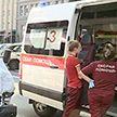 Три легковых автомобиля столкнулись с маршруткой возле Центрального универмага в Минске
