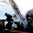 Пилорама горела этой ночью в Рогачёве