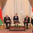 Лукашенко провел встречу с председателем Палаты представителей Египта