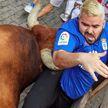 «Рога и копыта»: восемь человек пострадали во время забегов быков в Испании