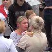 Семейная драма произошла 6 сентября на митинге в Минске