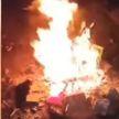 Следственный комитет возбудил уголовное дело на троих молодых людей за сожжение госфлага в Гомеле