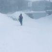 Снег выпал в польских Татрах: в горах – метровые сугробы