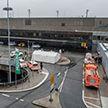 Неизвестный пытался пробить ограждение аэропорта в Германии