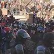 В России возбуждены первые уголовные дела за насилие над сотрудниками правоохранительных органов