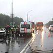 Три человека погибли в аварии под Солигорском: причина – плохая видимость из-за сильного ливня