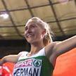 Белоруска Эльвира Герман завоевала золото в беге на 100 м с барьерами на чемпионате Европы по лёгкой атлетике