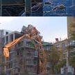 Зрелищные кадры из Канады: во время урагана «Дориан» ветер повалил строительный кран