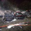 Неизвестный с огнеметом сжег в Польше 18 машин и автомастерскую