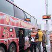 «МТБанк» запустил новогодний автобус, который связывает крупнейшие торговые центры Минска