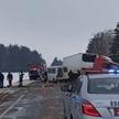Лобовое ДТП под Несвижем: в больницу попали шесть человек