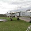 Бомбардировщик Су-24 пополнил коллекцию техники в мемориальном комплексе «Багратион»