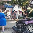 ДТП в Гродно: авто буквально вдавило 6-летнюю девочку в киоск